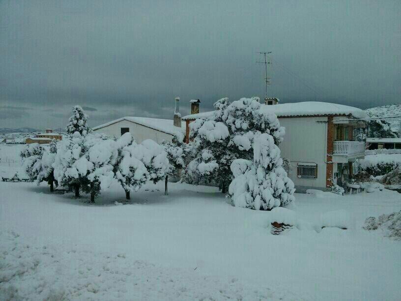 Barracas, amb 49cm de neu. Font: @LuceVictor