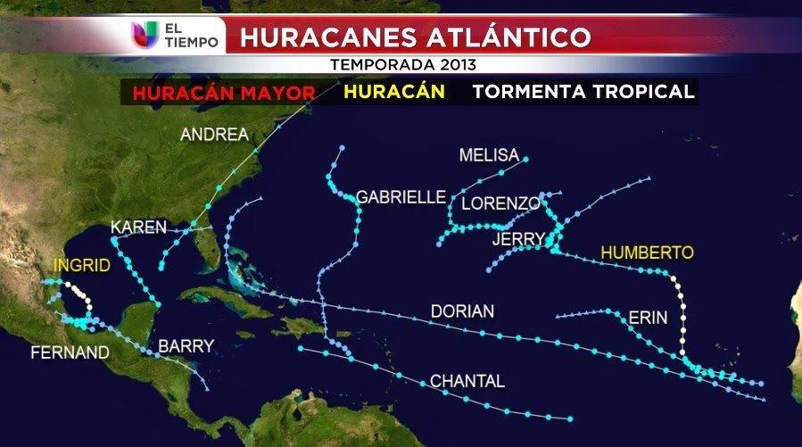temporada d'huracans 2013